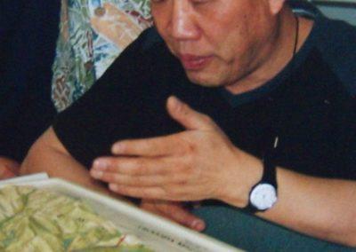 01. Howard Choi nad mapą 3D