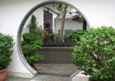 44. Przejście księżycowe w ogrodzie chińskim